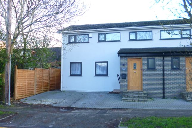 Thumbnail Semi-detached house to rent in Oakmere Avenue, Potters Bar, Herts