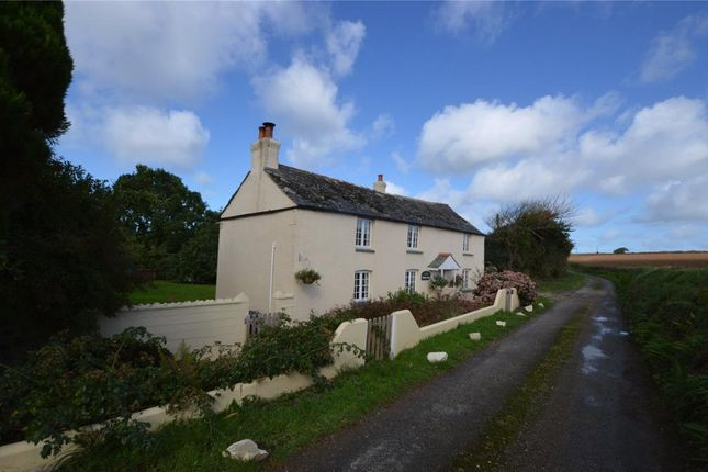 Thumbnail Detached house for sale in Tregaswith, Newquay, Cornwall