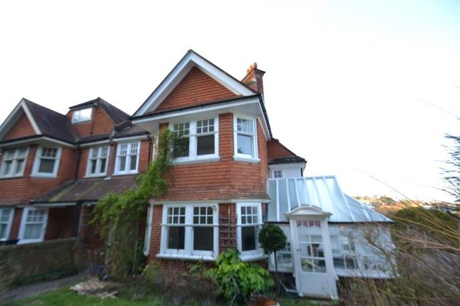 Thumbnail Semi-detached house to rent in Upper Dukes Drive, Eastbourne