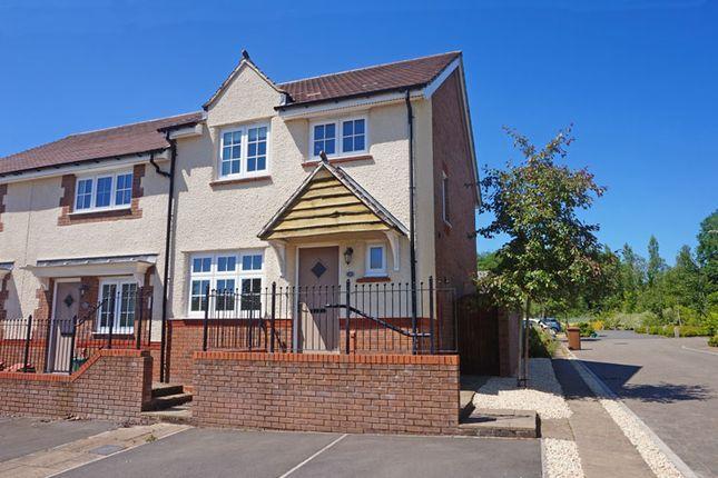 Thumbnail End terrace house for sale in Osprey Drive, Cwm Calon