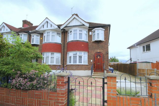 Thumbnail End terrace house for sale in Brunswick Park Road, London