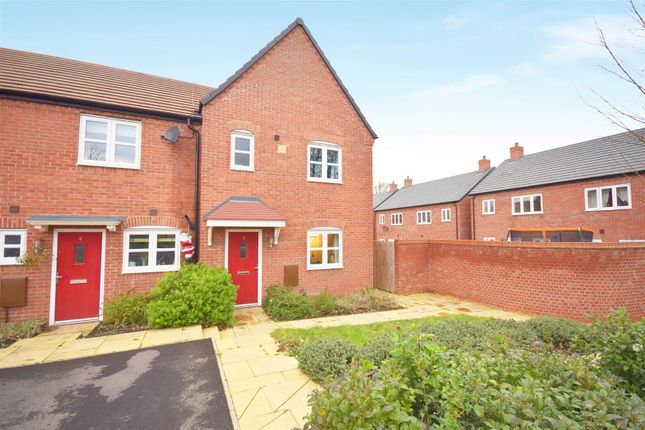 Thumbnail End terrace house for sale in Albert Close, Stratford-Upon-Avon