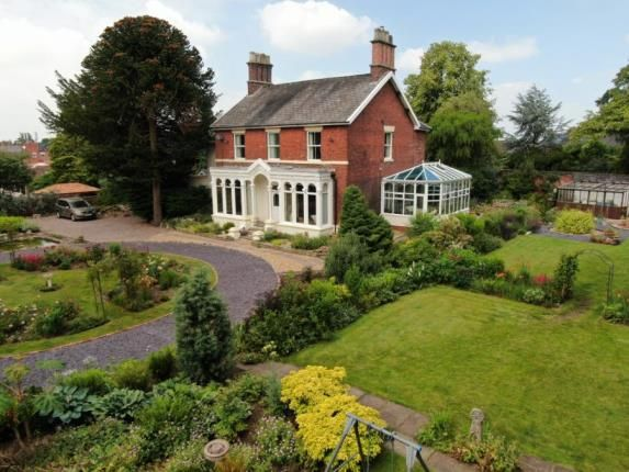 Thumbnail Detached house for sale in Sandbach Road South, Alsager, Stoke-On-Trent, Cheshire