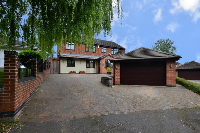 Thumbnail Detached house for sale in Kings Lodge Drive, Mansfield