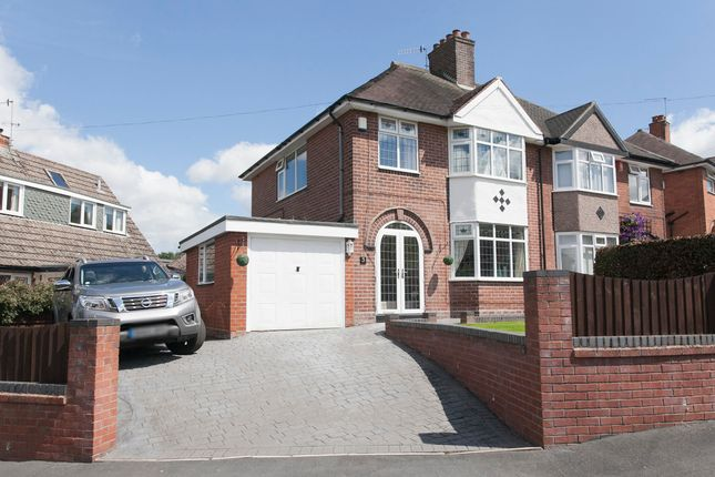 Semi-detached house for sale in Starwood Road, Lightwood, Stoke-On-Trent