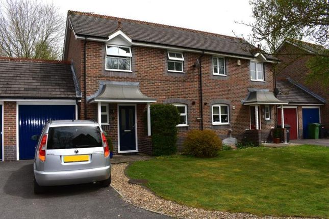 Thumbnail Semi-detached house to rent in Kennet Way, Hungerford