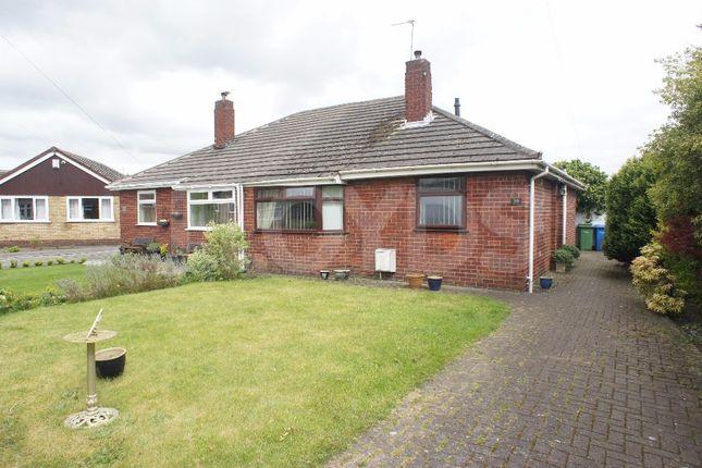 Thumbnail Semi-detached bungalow to rent in Rushmore Grove, Paddington, Warrington, Cheshire