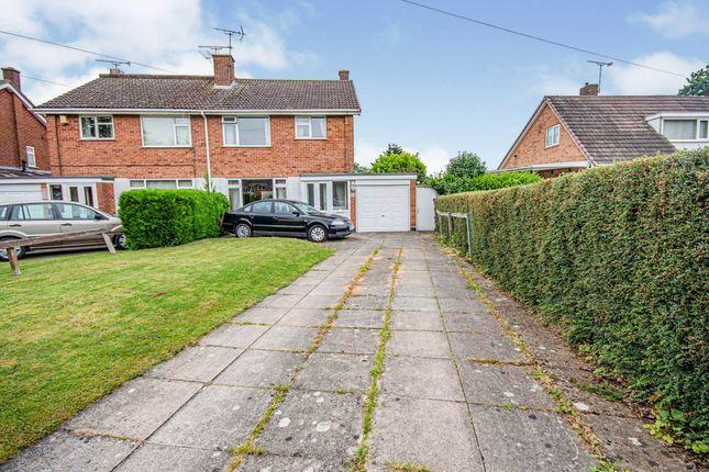 Thumbnail Semi-detached house for sale in Parklands Avenue, Leamington Spa