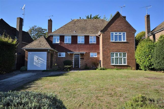Thumbnail Detached house for sale in Longlands, Charmandean, Worthing, West Sussex