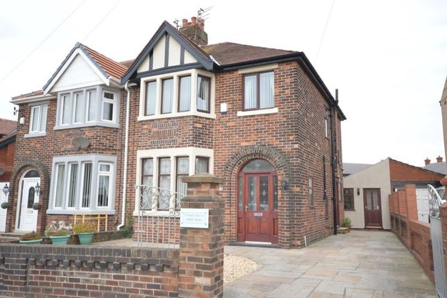 Thumbnail Semi-detached house to rent in Park Road, Blackpool