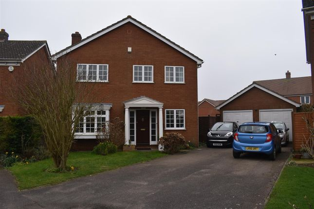 Thumbnail Detached house for sale in Willow Springs, Cranfield, Bedford