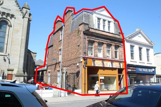 Thumbnail Commercial property for sale in 56-58, Sandgate (Full Building), Ayr Town Centre KA71Bx