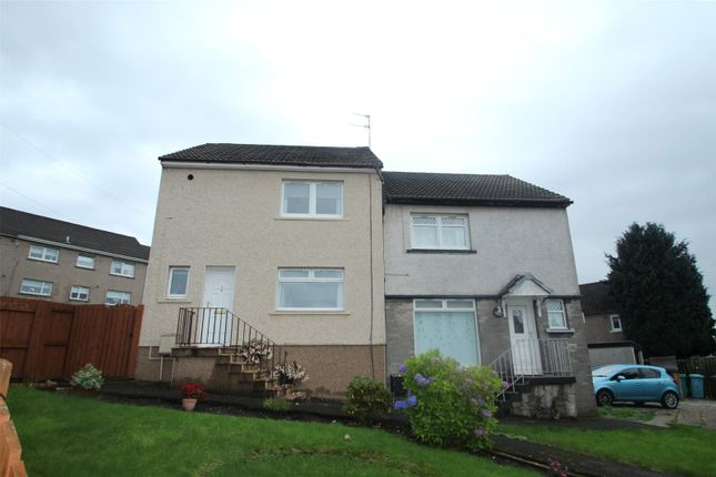 Thumbnail Semi-detached house for sale in Campsie Crescent, Airdrie, North Lanarkshire