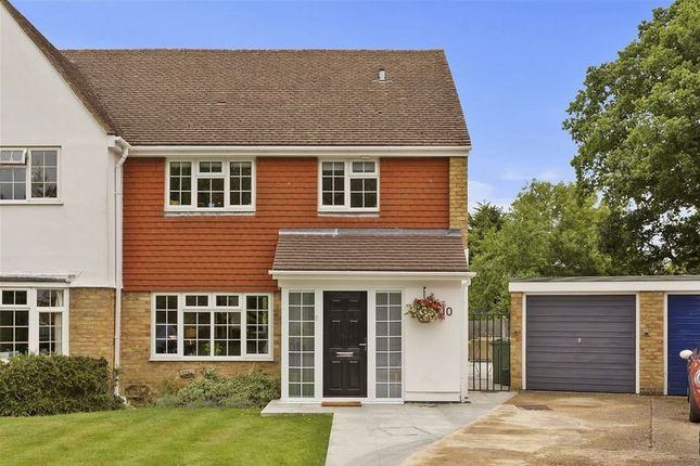 Thumbnail Semi-detached house for sale in Overbrook, West Horsley, Leatherhead