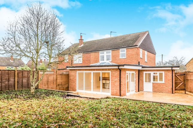 Thumbnail Semi-detached house for sale in Strathmore Road, Whitwell, Hitchin