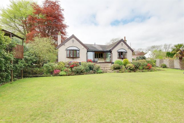 Thumbnail Detached bungalow for sale in Private Road, Hucknall, Nottingham