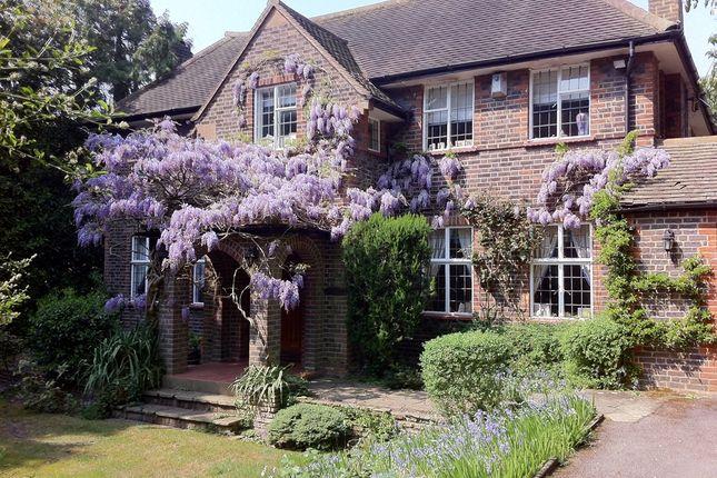 Thumbnail Detached house for sale in Hartsbourne Avenue, Bushey Heath