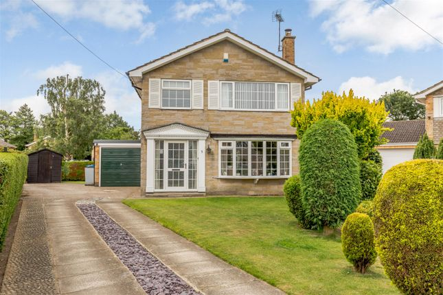 Thumbnail 3 bed detached house for sale in Maple Croft, Huby, York