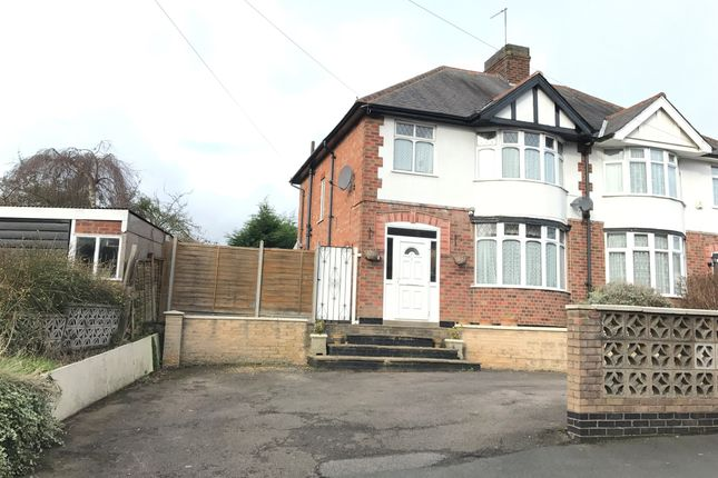 3 bed semi-detached house for sale in Church Street, Oadby, Leicester