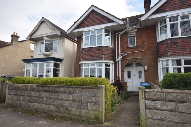 Thumbnail Flat to rent in Whitworth Crescent, Bitterne, Southampton, Hampshire