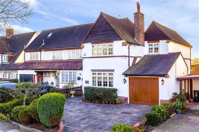 Thumbnail Semi-detached house for sale in Cotswold Way, Enfield, Middlesex