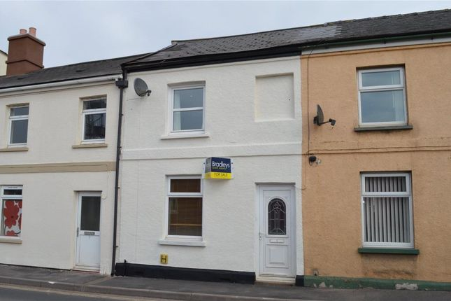 Thumbnail Terraced house for sale in Charlotte Street, Crediton, Devon