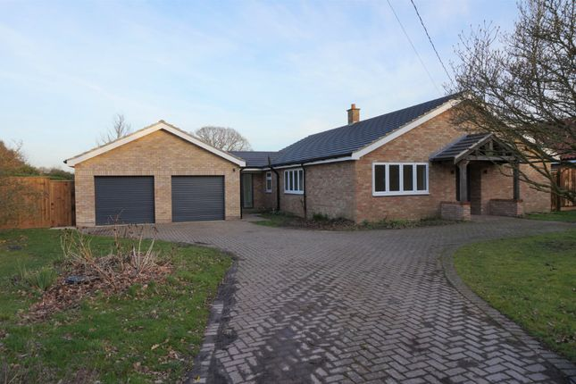 Thumbnail Detached bungalow for sale in Link Lane, Bentley, Ipswich, Suffolk