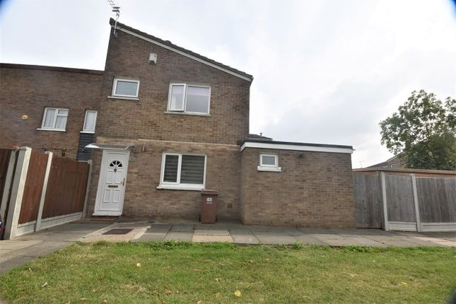 Thumbnail Terraced house for sale in Limeslade Close, Corringham, Stanford-Le-Hope