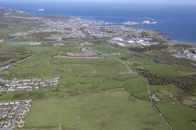 Thumbnail Land for sale in Plots, Parc Cybi, Holyhead, Anglesey