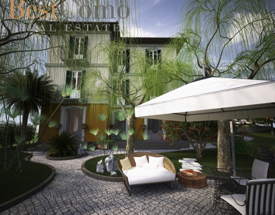 6 bed detached house for sale in Mezzegra, Lake Como, Lombardy, Italy