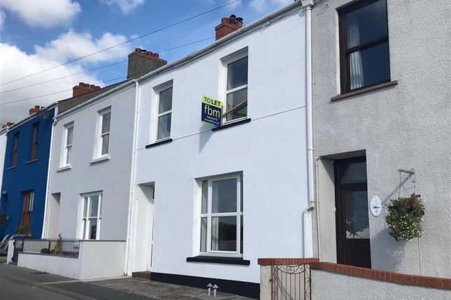 Thumbnail Terraced house to rent in Great Eastern Terrace, Milford Haven, Pembrokeshire