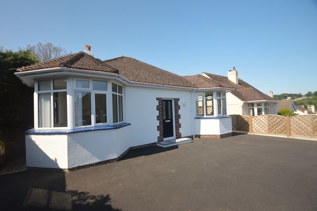 Thumbnail Bungalow to rent in Barchington Avenue, Torquay
