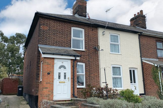 Thumbnail End terrace house for sale in Creeting Road, Stowmarket
