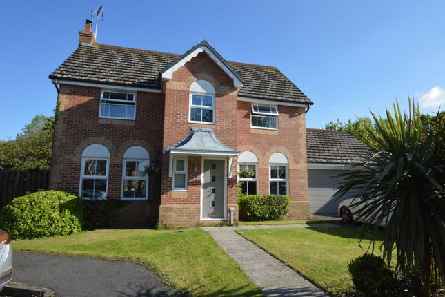 Thumbnail Detached house for sale in Fontwell Drive, Alton, Hampshire