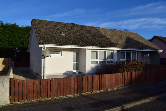 Thumbnail Semi-detached bungalow for sale in Glebe Road, Mosstodloch, Fochabers