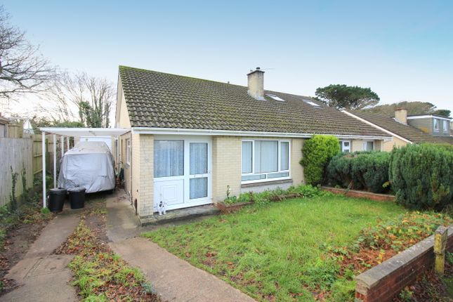 Thumbnail Semi-detached bungalow to rent in Ridgeway, Saltash