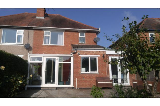 Rear View of Moat Avenue, Coventry CV3