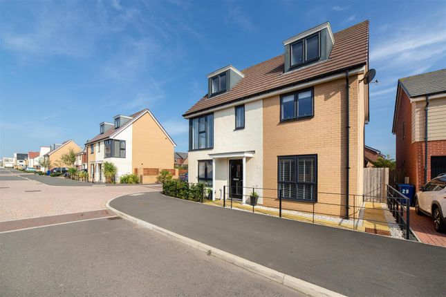 Thumbnail Detached house for sale in Heron Crescent, Newcastle Upon Tyne