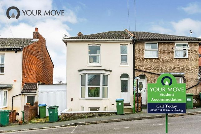 Thumbnail Semi-detached house to rent in Southcliff Road, Southampton
