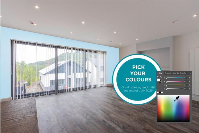 Thumbnail Detached house for sale in Plot 17 - Parc Cynefin, Godreaman Street, Aberdare