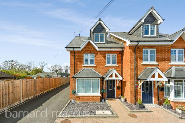 4 bed semi-detached house for sale in Rushlight Mews, Malden Rushett, Chessington KT9