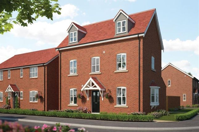 Thumbnail Detached house for sale in The Fairways, Priors Hall Park, Corby