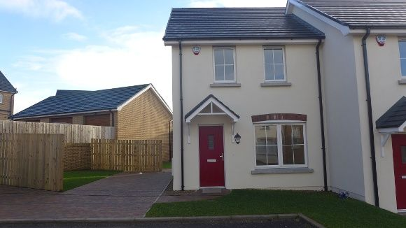Thumbnail Town house to rent in Ayrshire Lane, Brokerstown Road, Lisburn