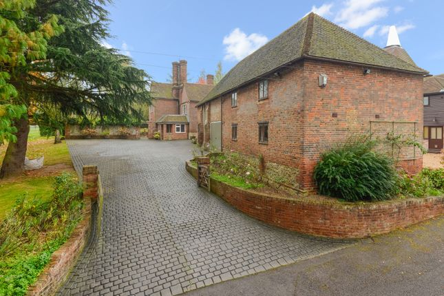 Thumbnail Detached house for sale in Smiths Hill, West Farleigh