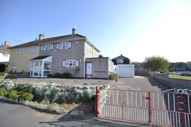 Thumbnail Semi-detached house for sale in Keinton Walk, Bristol