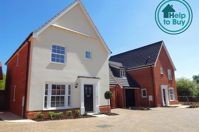 Thumbnail Property for sale in Plot 35, The Oxburgh, Springfield Grange, Acle