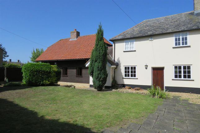 Thumbnail Semi-detached house to rent in Royston Road, Litlington, Royston