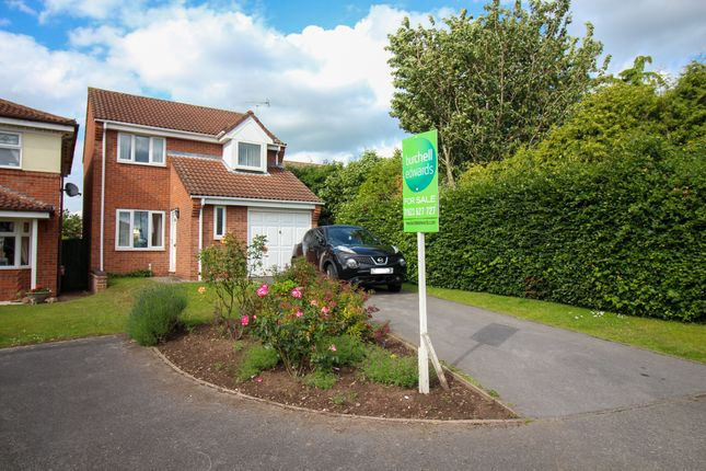 Thumbnail 3 bed detached house for sale in Muirfield Way, Mansfield Woodhouse, Mansfield