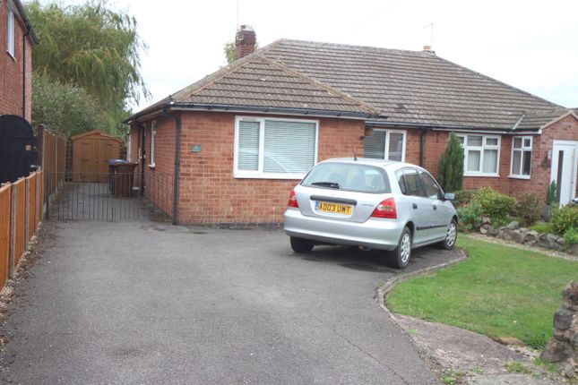 Thumbnail Semi-detached bungalow for sale in The Fairway, Burbage, Hinckley
