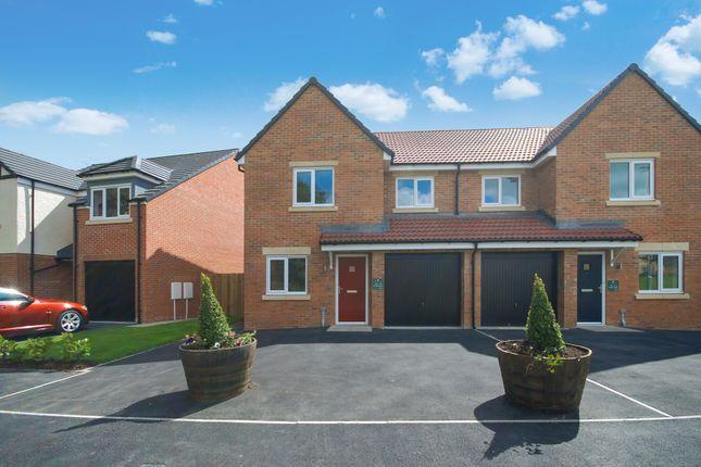 Thumbnail Semi-detached house for sale in Stannington Park, Off Green Lane, Stannington